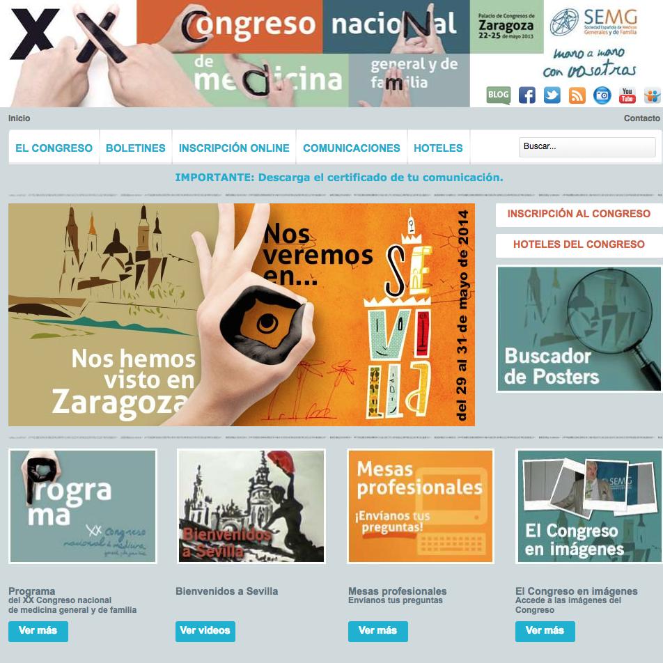 Poster Zaragoza 2013