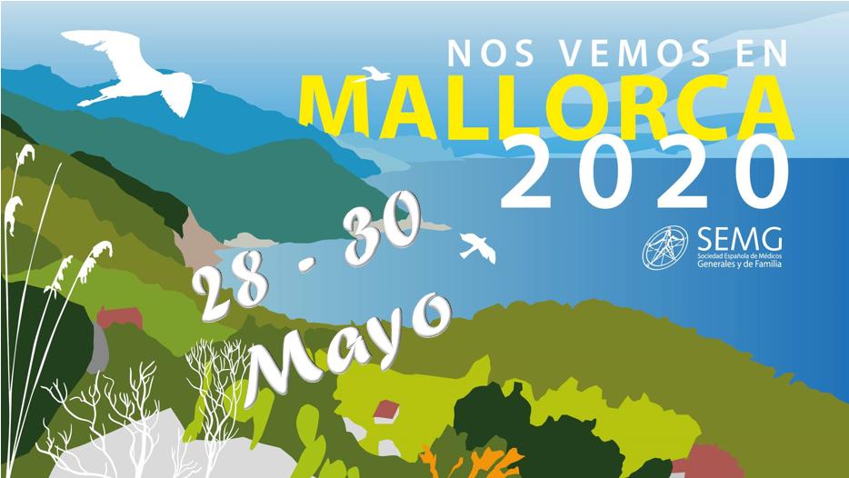 Imagen de anuncio de congreso de Mallorca